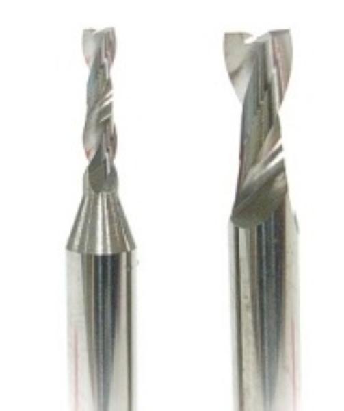 TOP VHM Schaftfräser Ø 1,5 mm Fräser für die Aluminium Bearbeitung NEU